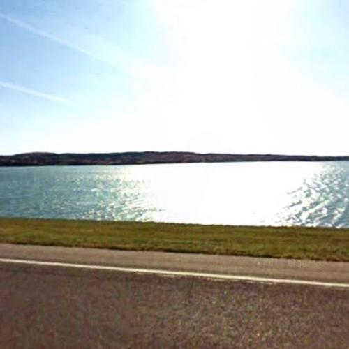 Lake Sharpe in Fort Thompson, SD (Google Maps)