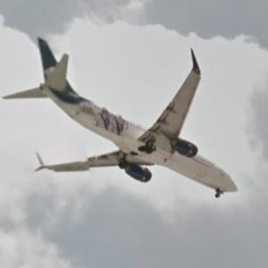 "Aeroméxico Boeing 737-852/W [XA-AMJ] ""Club de Cuervos / Netflix"" Special Livery (StreetView)"
