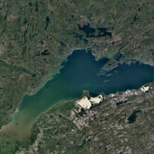 Lake Athabasca (Google Maps)