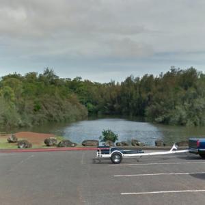 Wahiawa Reservoir - Largest lake in Hawaii (StreetView)