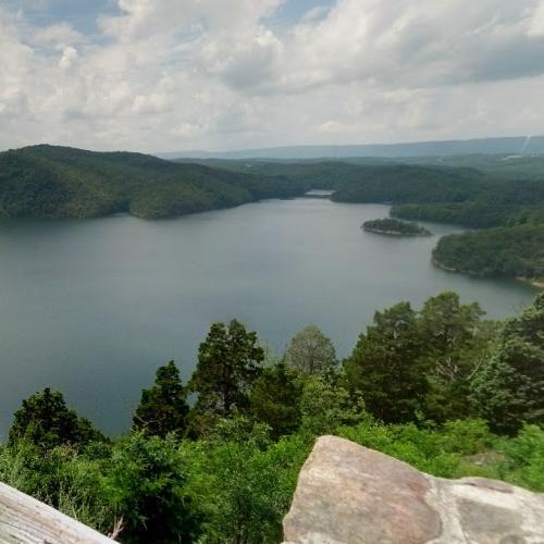 Raystown Lake in Huntingdon, PA (Google Maps)