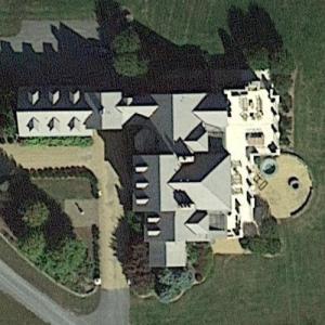 Erik Prince's House (Google Maps)