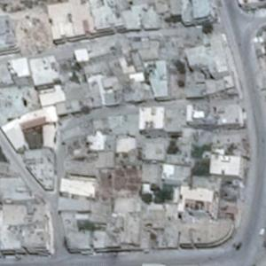 2017 Khan Shaykhun chemical attack site (Google Maps)