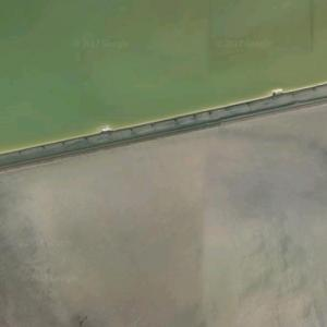 Bagley train wreck (12/31/1944) (Google Maps)