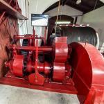 Buczyniec slipway engine room