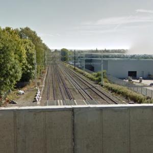 Milton rail crash (11/20/1955) (StreetView)