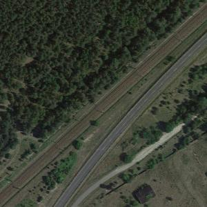 Forst Zinna rail disaster (1/19/1988) (Google Maps)