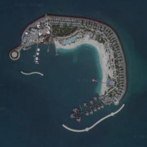Banana Island Resort Doha (Google Maps)