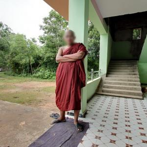 Tough monk (StreetView)