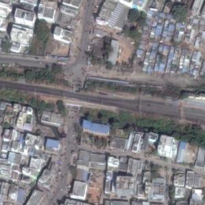 Warangal train crash (7/2/2003) (Google Maps)