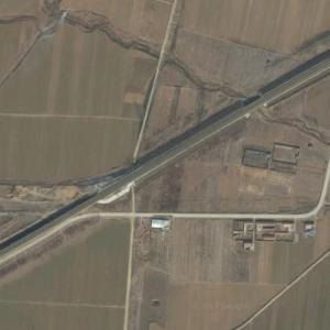 Zibo train collision (4/28/2008) (Google Maps)