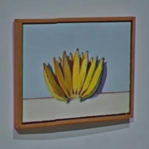 'Banana Hand' by Wayne Thiebaud (StreetView)