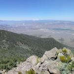 View from Rawe Peak