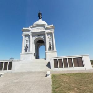 Pennsylvania State Memorial, Gettysburg (StreetView)