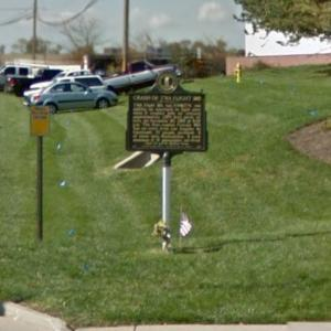 TWA Flight 128 Historical Marker (StreetView)