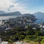 View of Ålesund from Mount Aksla