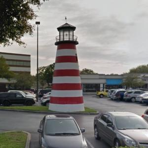 Landlocked Lighthouse (StreetView)
