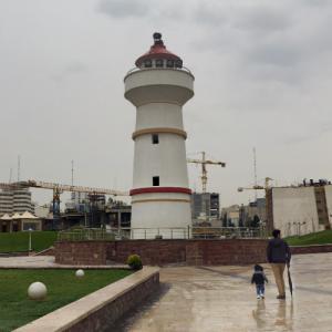 Landlocked Lighthouse (StreetView)