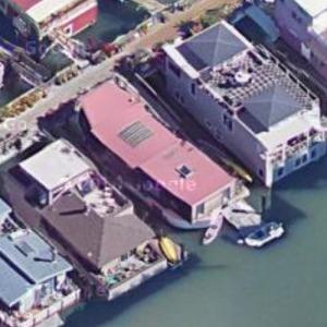 Shel Silverstein's Houseboat (Deceased) (Google Maps)
