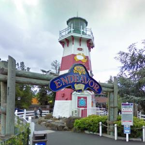 California's Great America lighthouse (StreetView)
