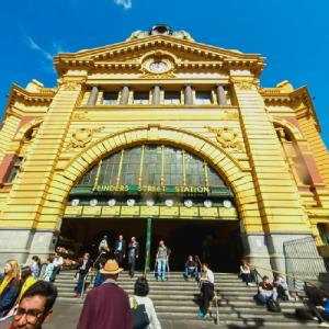 Flinders Street Railway Station (StreetView)