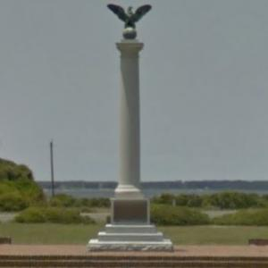 Fort Fisher Confederate Memorial (StreetView)