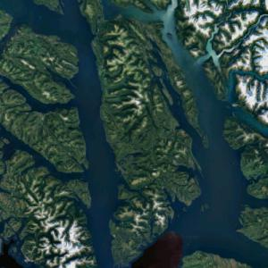 Admiralty Island (Google Maps)