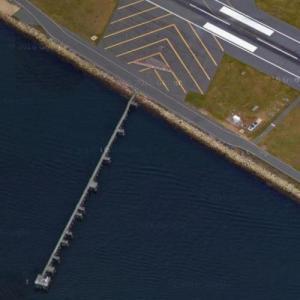 Delta Air Lines Flight 723 crash site (Google Maps)