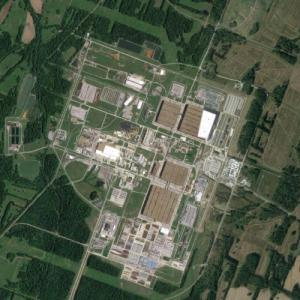 Paducah Gaseous Diffusion Plant Superfund Site (Google Maps)