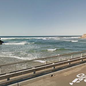 Mouth of the San Dieguito River (StreetView)