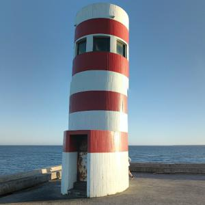 Lighthouse at the mouth of the Douro (StreetView)