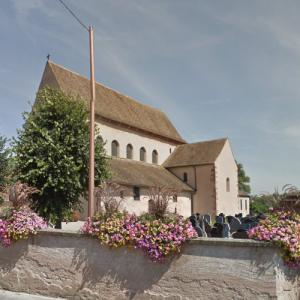 St Trophimus' Church, Eschau (StreetView)