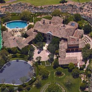 Matt Kemp's House (Google Maps)