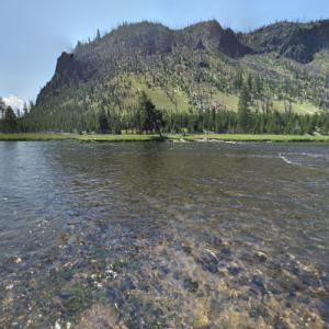 Source of the Madison River (StreetView)