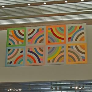 'Tahkt-I-Sulayman Variation II' by Frank Stella (StreetView)