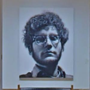 'Frank' by Chuck Close (StreetView)