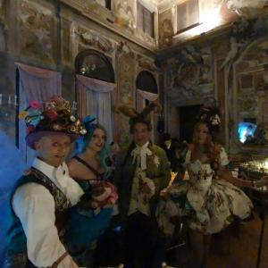 Costume party at Ca' Zenobio degli Armeni (StreetView)