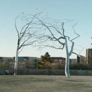 'Conjoined' by Roxy Paine (StreetView)