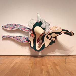 'The Blanket' by Frank Stella (StreetView)