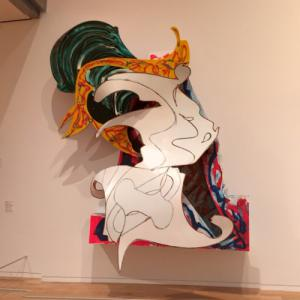 'The Whiteness of the Whale' by Frank Stella (StreetView)