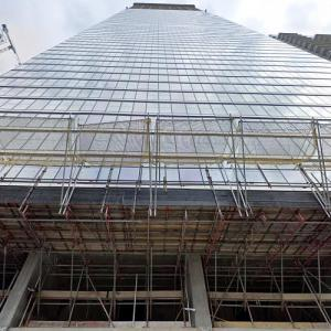 'The Landmark Pinnacle' by Norman Foster under construction (StreetView)
