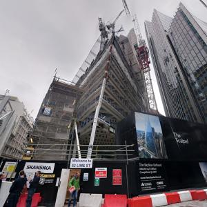 The Scalpel under construction (StreetView)