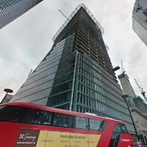 100 Bishopsgate under construction (StreetView)