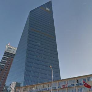Kristalkule Finansbank Headquarters (StreetView)