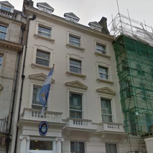 Argentinian Embassy, London (StreetView)