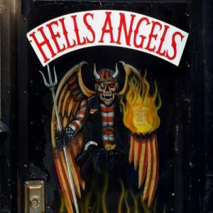 Hells Angels art (StreetView)
