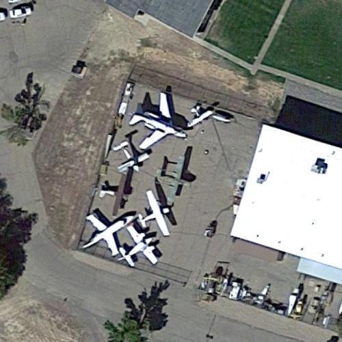 Aircraft Static Display At Colorado Northwestern Community