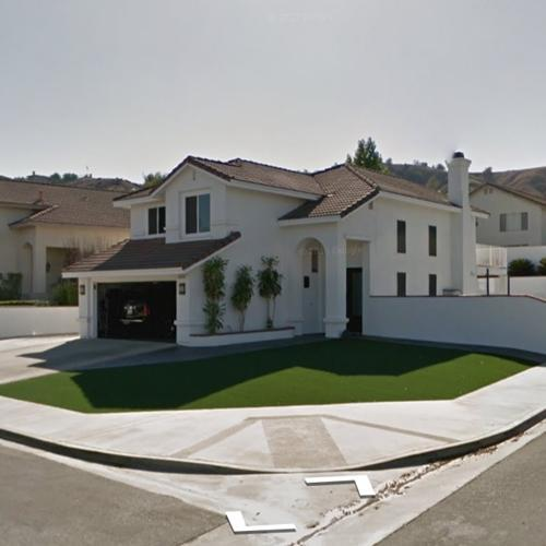 Lavar Ball Family House In Chino Hills Ca Google Maps