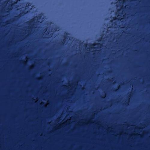 Titanic location (Google Maps)