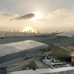 View from Sarona Azrieli Tower (StreetView)